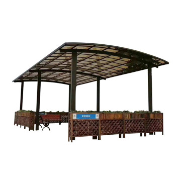 Tetto materiale Carport Canopy Car Parking Roofing Roofing