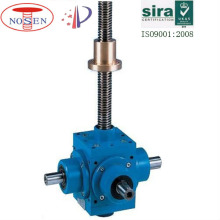 bevel gear lifting jack compact high lift screw jack