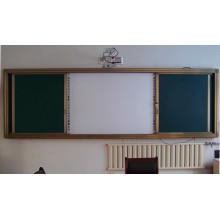 Раздвижная доска Vaious Зеленая доска для школьного обучения