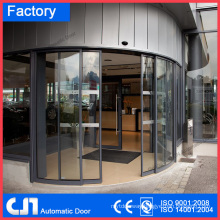 Hotel Office Building Automatic Curved Sliding Door