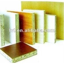 Paneles de aglomerado de partículas de melamina blanca