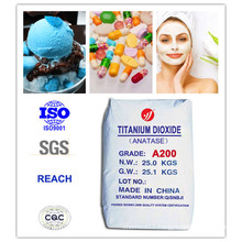 99%Purity Healthy Anatase Titanium Dioxide for Food and Cosmetics (A200)
