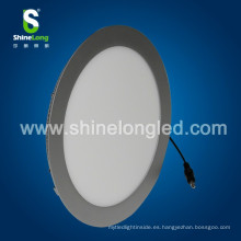 led panel luz ronda 180 MM CE ROHS aprobado