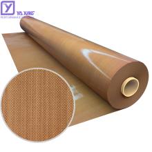 LFGB Approved PTFE Sheet Controlled Porosity Anti-Corrosion Fiberglass Cloth For Sale