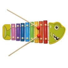 Juguete de madera del juguete Xylophone Shark (81941-4)