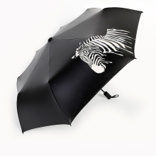 B17 zebra changing color umbrella creative umbrella print umbrella