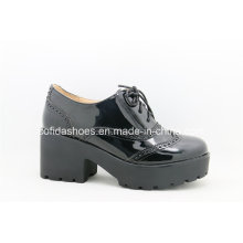 New Comfort Casual Medium Heel Lady Shoes