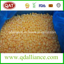 IQF Frozen Diced Yellow Peach with High Quality