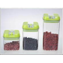 Three PCS One Set High Quality Plastic Storage Jar