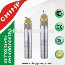 CHIMP high performance 0.75KW SK series deep well irrigation borehole sumbersible pump