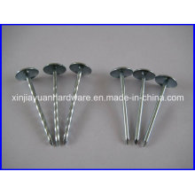 Round Head Galvanized Umbrella Roofing Nail