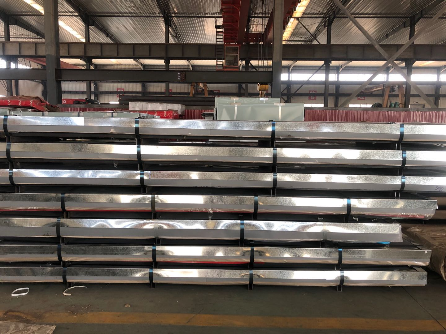 Colour Coated trapezoidal Steel Roofing Sheet
