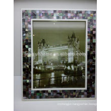 Home Decor and Gift Black Mother-of-pearl Sexy Photo Frame