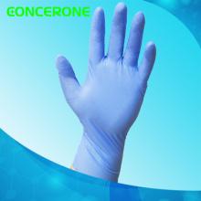 Hochwertige blaue Farbe Prüfung Nitril-Handschuhe