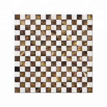 Classical Square Mother Of Pearl Mosaic Tile