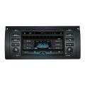 Quad Core Hl8786 Lecteur DVD de voiture avec lecteur MP3 / 4, 3G / 4G, WiFi Bt pour BMW E39 / E53 / M5 GPS Navi