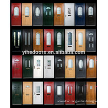 Factory cheap pvc toilet door pvc bathroom door price