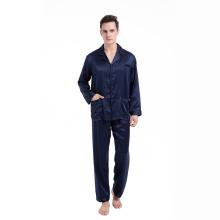100% Silk Classic Pocket Set Sleepwear Pajamas