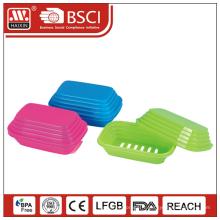 gros savon boîte bon marché en plastique porte-savon & porte-savon