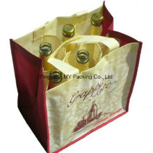 Competitive Price Custom Print PP Nonwoven Bag for Wine