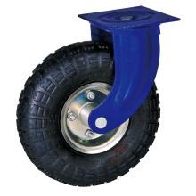 Roulettes pneumatiques industrielles de 10 '' avec roulement à billes