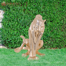 Figurines en bois de tigres de polyresins personnalisés en Chine