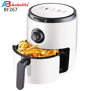 Stainless Steel 3.5L Digital Oilless Cooker Air Fryer