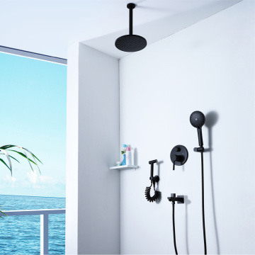 Black Bidet Shower Set Bathroom Shower Faucet