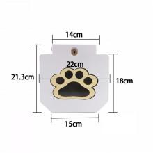 Fonte de água do animal de estimação ao ar livre Step-On Doggie Fountain Fornece fornecimento instantâneo infinito de fonte de água potável