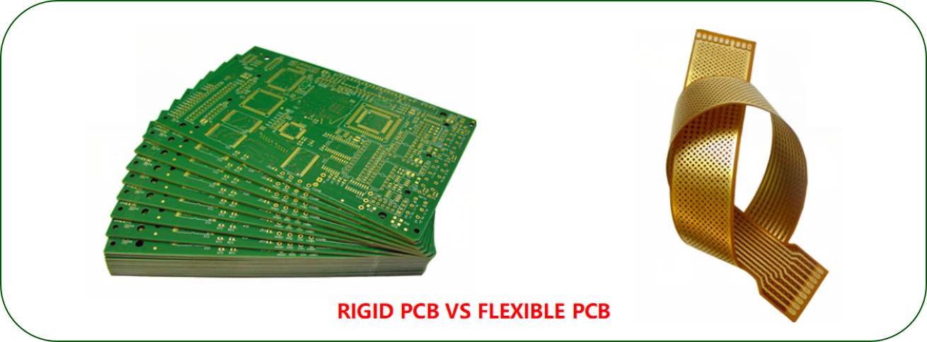 RIGID PCB VS FLEXIBLE PCB