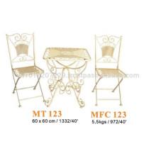 Metal furniture - garden set & bistro set 2