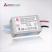 12В 24В постоянного напряжения электропитания Сид 12 Вт светодиодный драйвер свет