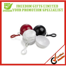 Give Away Freedom Gifts Logo Printed Golf Safe Rain Disposable Poncho Ball