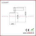 Factory Price 7W Black LED COB Track Lighting LC2307t