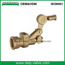 Tipo de la industria Válvula de bola flotante forjada de cobre amarillo (AV5027)
