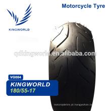 Pneus para motociclos 4.50-17 80 / 100-17 100 70 17,180 / 55-17 110/90 17 Escolha do pneu da motocicleta Escolha do fornecedor