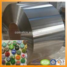 EN10202 excelente acabado brillante 2.8/5.6 Señor de metal pueden precio de hojalata de producción