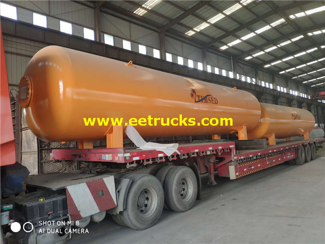 40 Ton LPG Steel Tanks