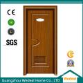 White Prehung Interior PVC Wooden American Panel Door (WDHC01)