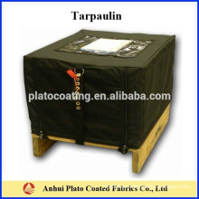 Yellow Waterproof PVC Pallet Cover