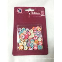 Kit de costura de botón colorido