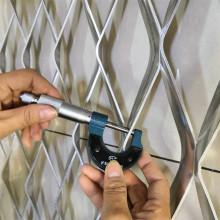 Aluminum decorative expanded metal mesh wall panels