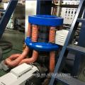 Máquina sopladora de película plástica de polietileno de una sola capa de 500 mm