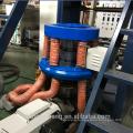 500 mm single layer mini polyethylene plastic film blowing machinery
