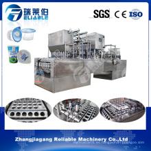 Línea de producción de agua de taza de plástico / máquina de llenado