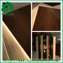 Hoja de madera contrachapada de melamina de 18 mm, contrachapado laminado