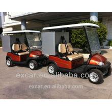 Китайский дешевый 2 местный электрическая тележка гольфа багги с грузом