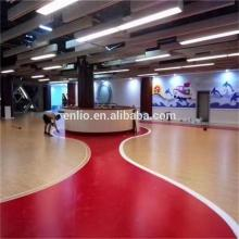 Plancher de salle de gymnastique de PVC qui respecte l'environnement