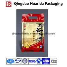 Fabricante personalizado de bolsas plásticas del sello del calor de tres lados de las semillas