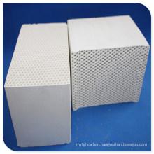 Ceramic Honeycomb as Heat Transfer